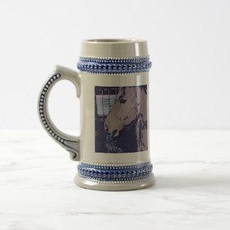 Pop Art Horse 18 Oz Beer Stein