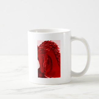 Pop Art Horse Classic White Coffee Mug