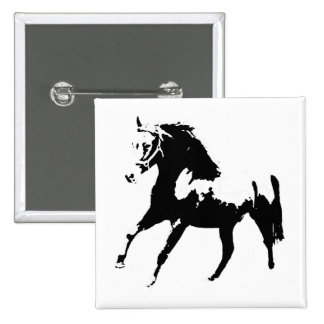 Pop Art Horse Pinback Button