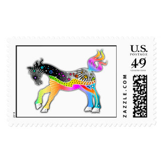 Pop Art HORSE Postage Stamp