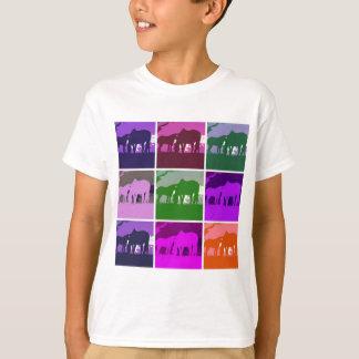 Pop Art Horses T-Shirt
