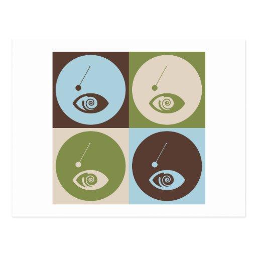 Pop Art Hypnotism Postcard