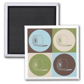 Pop Art Insulation 2 Inch Square Magnet