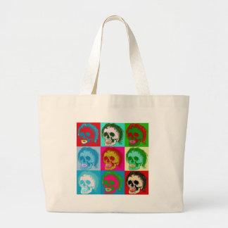 POP ART is dead! Large Tote Bag