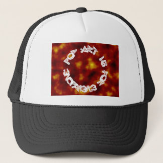 Pop art is for everyone trucker hat