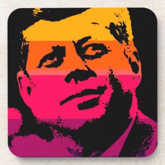 Pop Art Jack JFK John F. Kennedy Coaster