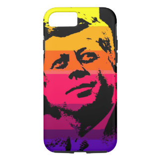 Pop Art Jack JFK John F. Kennedy iPhone 7 Case