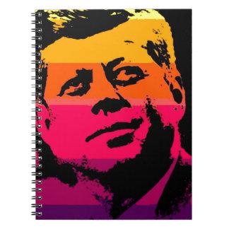 Pop Art Jack JFK John F. Kennedy Notebook