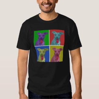 pop art jack russell men's t-shirt