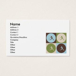 Pop Art Javelin Business Card