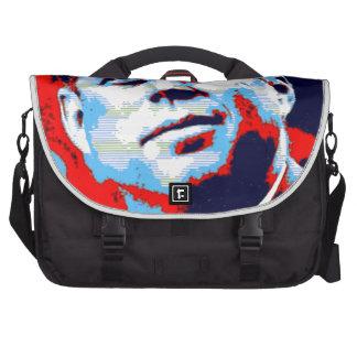 Pop Art JFK John F. Kennedy Red Blue Computer Bag