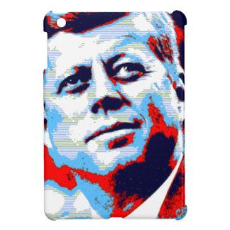 Pop Art JFK John F. Kennedy Red Blue iPad Mini Cover