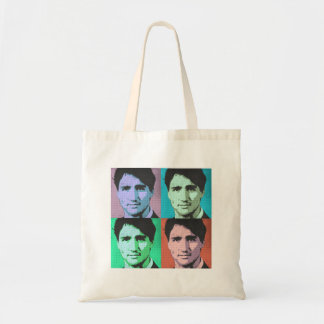 Pop Art Justin Trudeau - Full Size 2-.png Tote Bag