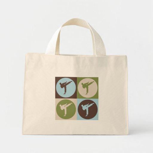 Pop Art Karate Mini Tote Bag