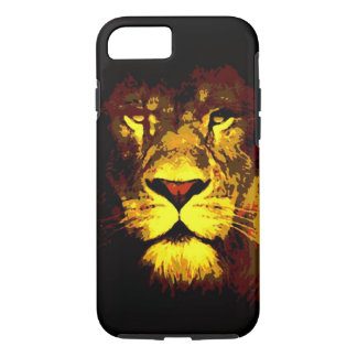 Pop Art King Lion Eyes iPhone 7 Case