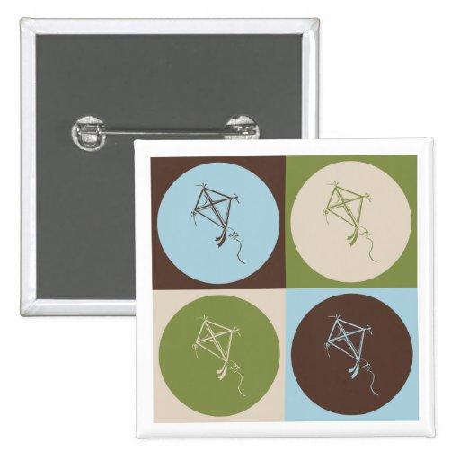 Pop Art Kite Pins
