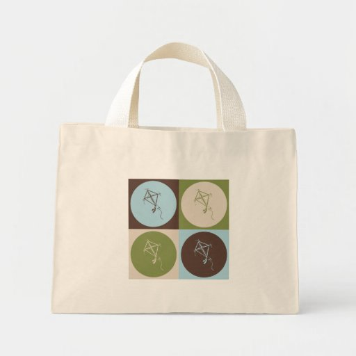 Pop Art Kite Tote Bag