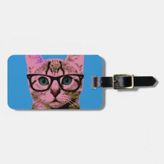 Pop Art Kitten Bag Tag