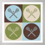 Pop Art Lacrosse Print