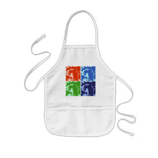 Pop Art Lady Liberty Kids' Apron