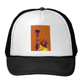 Pop Art Lady Liberty Trucker Hat