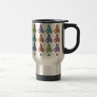 Pop Art Leprechaun Travel Mug