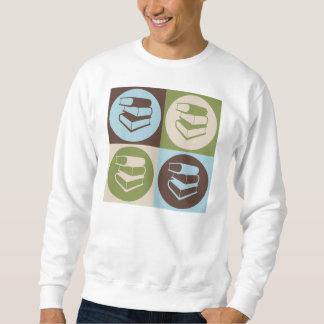 Pop Art Library Work Sweatshirt