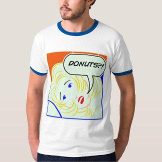 Pop art Lichtenstein style Donuts T-Shirt
