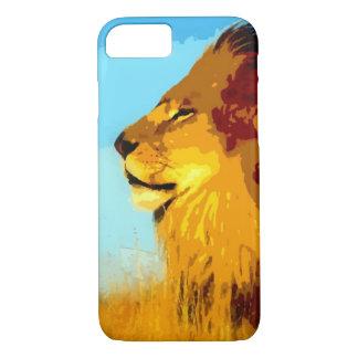 Pop Art Lion iPhone 7 Case