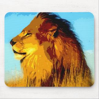 Pop Art Lion Mouse Pad