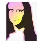 Pop Art Lisa Letterhead Design