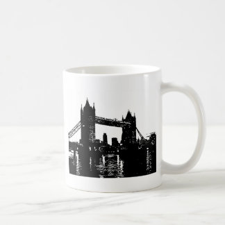 Pop Art London Tower Bridge Coffee Mug