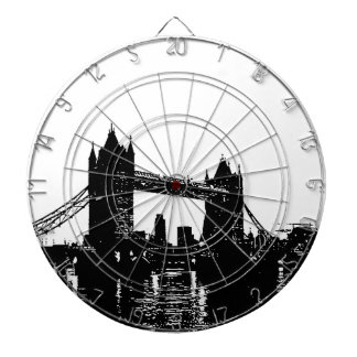 Pop Art London Tower Bridge Dart Boards