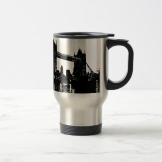Pop Art London Tower Bridge Travel Mug