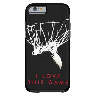Pop Art Love Basketball Game Tough iPhone 6 Case