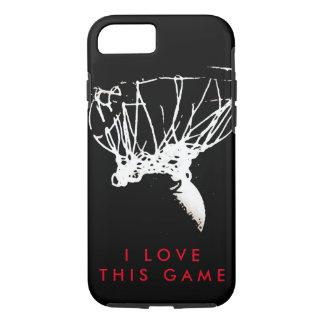 Pop Art Love Basketball Game Tough iPhone 7 Case