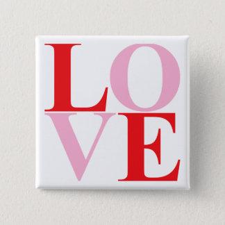 Pop Art LOVE Button