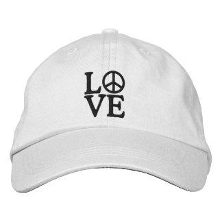 Pop Art LOVE Embroidered Baseball Caps
