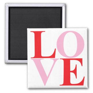 Pop Art LOVE Magnet