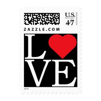 Pop Art LOVE Postage