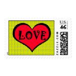 Pop Art Love Stamp