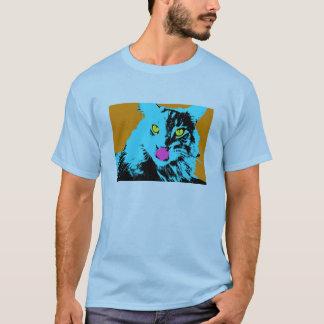 Pop Art Maine Coon Cat T-Shirt