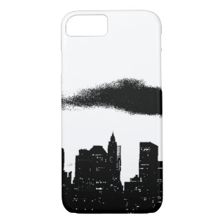 Pop Art Manhattan Skyline Empire States Building iPhone 8/7 Case