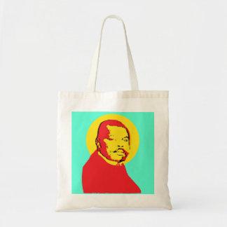 Pop Art  Marcus Garvey Design Tote Bag