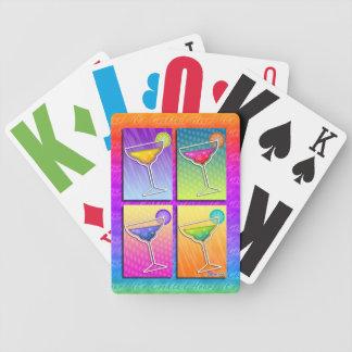 Pop Art MARGARITAS PLAYING CARDS