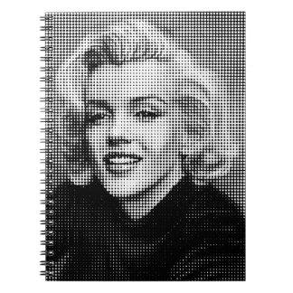 Pop Art Marilyn Notebook