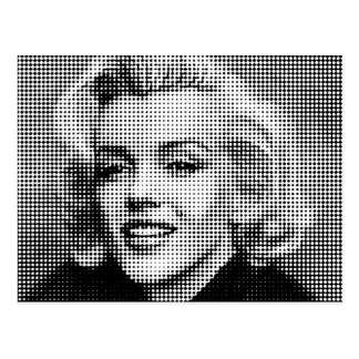 Pop Art Marilyn Postcard