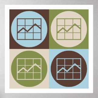Pop Art Market Research Poster