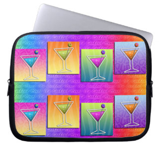 Pop Art MARTINIS LAPTOP SLEEVE CASE