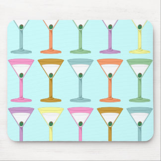 Pop Art Martinis Mouse Pad
